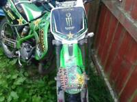 Kx100 needs piston swap for pitbike and cash