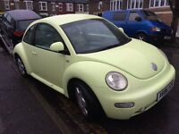VW VOLKSWAGEN BEETLE 2.0 HATCHBACK LONG MOT OLD MOTS DRIVES WELL NEEDS A CLEAN