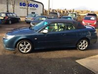 SAAB 9-3 1.9 TID DIESEL LINEAR SE CONVERTIBLE - FINANCE AVAILABLE