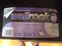 Erfurt wallrock superglass 140 pre-coated glass fibre liner - Fibreglass wallpaper - and Adhesive