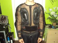 Teenagers motocross protection vest