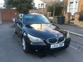 2005 BMW 525I SE DIESAL 4 DOOR SALOON MANUAL WITH SERVICE HISTROY BLACK