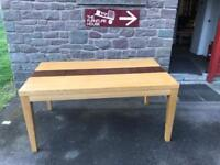 Oak dining table * free furniture delivery *