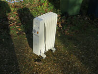 Oil filled Electric Radiator 1500w hardly used