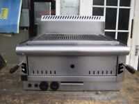 Parry PGC6 Catering Gas Chargrill Table top.