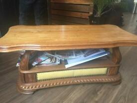 Chesterfield Style Coffee Table