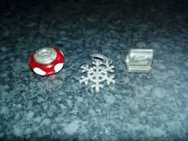 Pandora charms and pendant