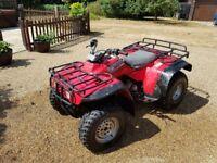 honda big red quad bike for sale £1500