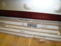 8 x Cornice/Pelmet in White gloss code 234755