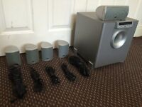 JBL ECS EXCITE, 5.1 HOME CINEMA SYSTEM, FULLY TESTED, LOUD & CLEAR SOUND, WORKING CONDITION.