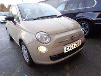 FIAT 500 1.2 Pop 3dr [Start Stop] (beige) 2014