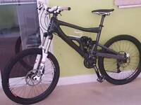 Cannondale moto carbon fibre Mountain Bike