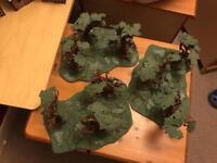 Warhammer 3x Sylvaneth Wyldwood Painted
