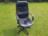 Office Chair – Leather = £5
