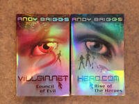 Andy Briggs - Teenage fiction books, Hero & Villain