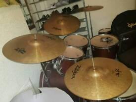 Zildjian Zht cymbal box set