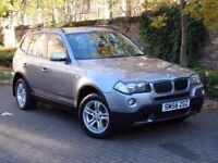 AA WARRANTY!! 56 REG BMW X3 2.0 20d SE 5dr, AWD, 4X4, 1 YEAR MOT, DIESEL, EXCELLENT MPG