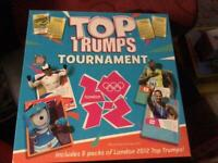 Top trumps tournament Olympic 2012 game