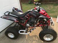 Yamaha Raptor YFM 660 ATV MX Quad Moto Bike 250 350 450 700 YFZ KTM LTZ LTR TRX KTM
