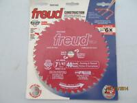 "FREUD NEW 7 1/4"", 40 TOOTH FINISHING CIRCULAR SAW BLADE"