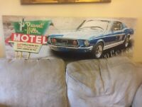 Ikea Mustang car picture