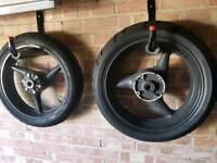 CBR 600 F-Sport wheels