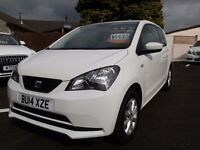 SEAT Mii 1.0 12v Toca 3 door ONE LADY OWNER FROM NEW WITH GENUINE 29850 MILES, FSH, MINT CONDITION