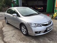 2010 HONDA CIVIC ES IMA 1.3 HYBRID CVT, 1 OWNER, LOW MILEAGE, LONG MOT