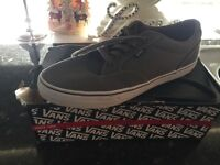 Brand new grey van trainers
