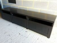 TV bench with drawers from Ikea BESTA range