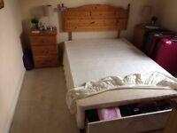 Pine Bedroom Furniture - Double Bed