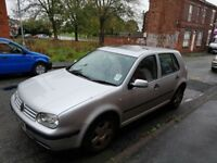 Vw golf 2001 for sale.