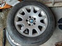 Bmw 7 or 5 series alloys with very good tyres