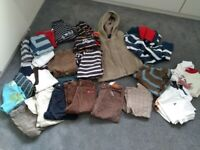 Bundle of 18-24 months boys clothing ( over 25 items)