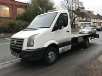 2008 VOLKSWAGEN CRAFTER 08 PLATE **RECOVERY TRUCK** CR35 109 LWB WHITE **** READY TO WORK ****