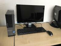 "Dell Optiplex 390 Intel i3 3.1 ghz 6gb ram 500gb hdd Hdmi dell 22"" full 1080p hd monitor full system"