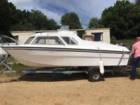 Shetland microplus 502 - power boat
