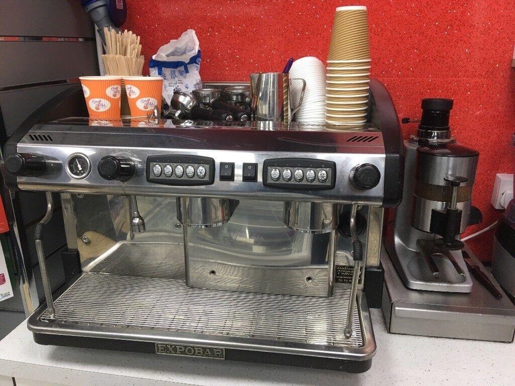 Expobar New Ellegance Group 2 Coffee Machine With Separate Grinder In Broxburn West Lothian Gumtree