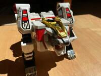Bandai Power Rangers Transforming White Tigerzord