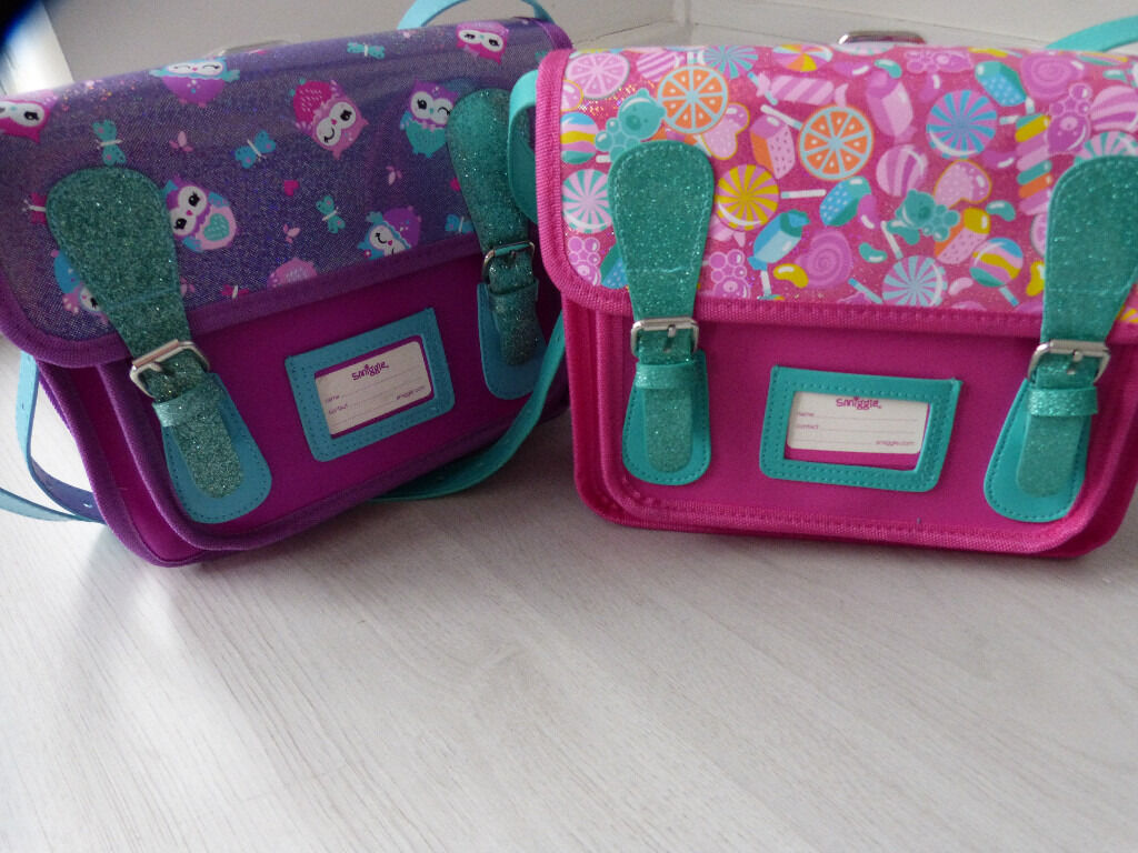 Brand New 2 X Smiggle Stunning Lucy Mini Satchel Bags In