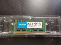 Crucial 16GB DDR4-2666 SODIMM RAM Laptop Memory CT16G4SFD8266
