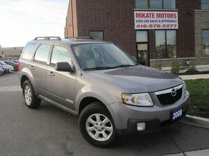 Sharp 2008 Mazda Tribute 2.3L 4WD, Sold Certified, ON SALE $5999
