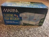 Floating fish hatchery