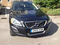 2010 10reg Volvo XC60 2.4 Turbo Diesel R Design Black