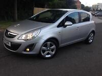 Vauxhall corsa 2011 1.2 petrol hpi clear excellent drive 3 months warranty