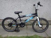 Flite punisher BMX bike 20 inch wheels, gyro brakes