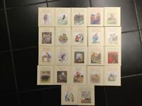 Alice's Adventures in Wonderland & Alice through the Looking Glass Book Collection - 22 books