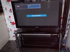 "42"" Samsung Plasma TV and unit"