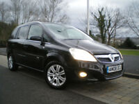 Vauxhall Zafira 1.8 i 16V Design 5dr * HALF LEATHER * ONLY 88K * 12 MONTHS MOT * 3 Months WARRANTY