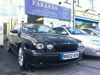 JAGUAR X TYPE 3.0 V6 with Half Leather Interior, Full Service History in immaculate Condition